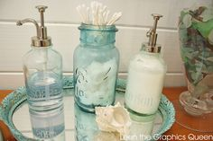 Our Sea Glass Inspired Beach Bathroom Remodel