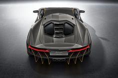 Lamborghini Officially Introduces the 770 Horsepower Centenario in Geneva