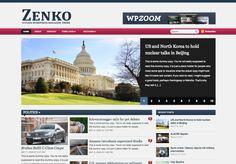 #Zenko_Magazine_WordPress_theme is a premium #magazine_WordPress_theme For Download Visit: http://www.premiumthemes4u.com/2014/05/zenko-magazine-wordpress-theme.html