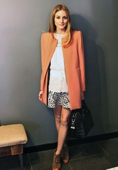 blouse, skirt and jacket are all from Zara, and my shoes are Elizabeth and James.