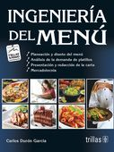 LIBROS TRILLAS: INGENIERIA DEL MENU como hacer un menú para restau...