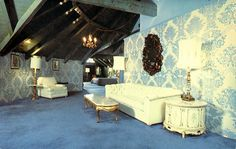 "The ""Austrian Suite"" at the Madonna Inn in the 60s-- insane."