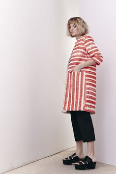 Cabana Stripe Jamaica Coat and Talco Cotton Dexy Pants   www.comrags.com