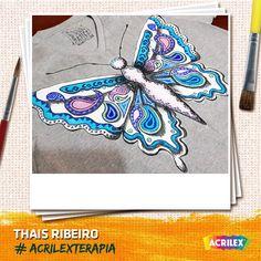 #Acrilexterapia por Thais Ribeiro