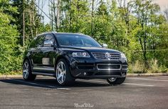 After receiving a complete Signature Detail, the eGarage VW Touareg TDI is all shined up & ready to hit the streets!