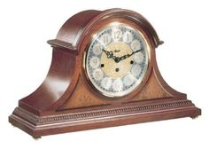 Hermle 21130N90340 Amelia Mantel Clock Mechanical Cherry