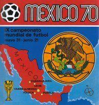 Panini World Cup 70 Mexico Album Cover