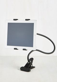 Everything is Under CTRL Tablet Holder. Easily take charge of any digital undertaking by using this flexible tablet holder! #black #modcloth