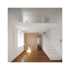 Building rehabilitation in Calçada do Lavra by Jorge Mealha Arquitecto ❤ liked on Polyvore featuring rooms, empty rooms, home, interior y backgrounds
