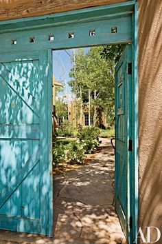 A Traditional Adobe Compound in Santa Fe Is Reimagined as a Light-Filled Oasis