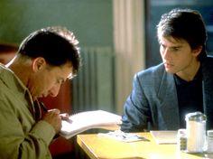 Rainman. Tom Cruise y Dustin Hoffman. Emotiva.