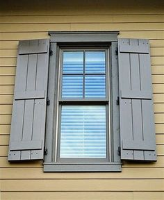 Image result for board and batten shutters