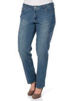 Typ , Jeans, |Materialzusammensetzung , 98 % Baumwolle, 2% Elasthan, |Beinform , nach unten hin schmal zulaufende Form, |Passform , Boyfriend-Style, nach unten hin schmal zulaufende Form, |Länge , N-Gr. ca. 80 cm, L-Gr. ca. 87 cm, K-Gr. 75 cm, |Stil , Boyfriend-Style, | ...