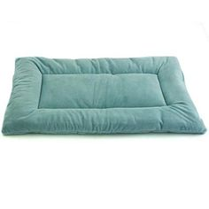 "Pet Dreams Plush Sleep-eez Seafoam Blue Reversible Dog Crate Pad    X-Large  42"" L X 28"" W  SKU: 1580884"