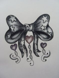 I want to add a solid ribbon shaped like this to the crown on the back of my neck. then get a dermal piercing on my neck, so the diamond is in the middle of the bow....I love the bow but not the hearts and stars