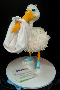 stork cake(now with sneakers!) | Flickr - Photo Sharing!