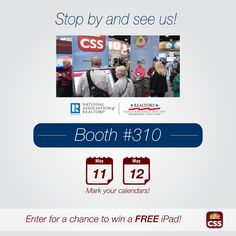 You've got a lot going on. There are a thousand things to do and playing phone tag shouldn't be one of them. Learn more about how CSS can save you time and effort at booth #310 at the NAR Legislative Meetings & Trade Expo tomorrow and Thursday. www.showings.com/about