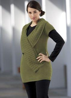 Trim Sweater Tunic from Midnight Velvet®