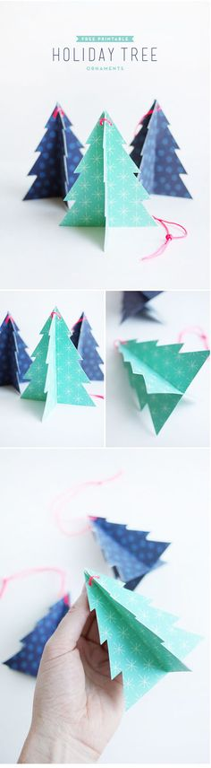 クリスマスガーランドの作り方:1
