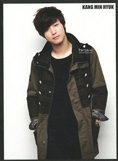 Kang Min Hyuk! He's adorable! And he's 22! And he's a drummer!!!