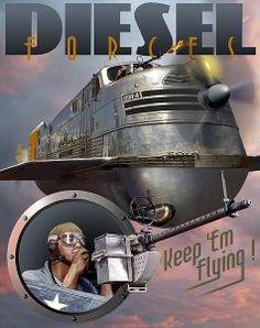 American Art Deco trains   Train Journeys of the World