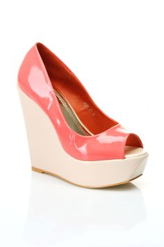 Venus-01 Wedges In Pink  $29.99