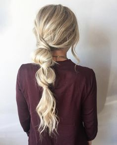 25 Fast Hairstyles for Long Hair Time-saving hairstyle for you hairstyle . - 25 quick hairstyles for long hair Fast Hairstyles, Straight Hairstyles, Braided Hairstyles, Wedding Hairstyles, Quick Easy Hairstyles, Easy Professional Hairstyles, Casual Hairstyles For Long Hair, Boho Hairstyles For Long Hair, Saree Hairstyles