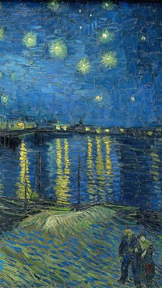 Van Gogh Wallpaper, Painting Wallpaper, Wallpaper Backgrounds, Painting Canvas, Canvas Art, Iphone Backgrounds, Iphone Wallpapers, Wallpaper Ideas, Monet Wallpaper