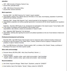 Law Resume  Resume Samples   Professional Attorney Resume Lawyer