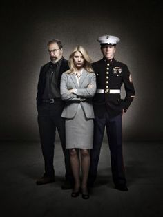 Homeland. Nerve-shredding drama. Is Brody a terrorist? Is Carrie taking her medication? Will we learn the truth while we still have fingernails?