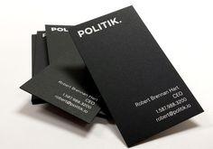 13 best black business cards images on pinterest black business politik black business cards white foil 700gsm black paper 34pt thickness colourmoves