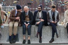 You Just Got Spotted - Pitti Uomo  Jacket on the Left please