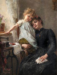 Жан Леон Базиль Перро (Leon Jean Basile Perrault 1832 - 1908). 4