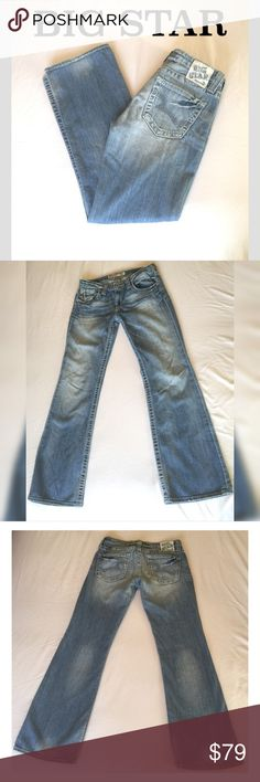 🎉 SALE ❤️ Big Star Remy Jeans Big Star Remy Low Rise Bootcut Jeans. Size 29R. Awesome pair to add to your jeans collection. Stylish and functional. Gently loved see last photo. Big Star Jeans Boot Cut