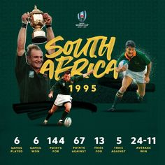 A defining moment not just for rugby. #RWC1995 was @bokrugby first Rugby World Cup victory