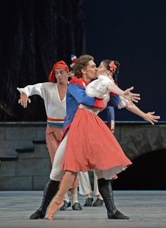 The Bolshoi Ballet in The Flames of Paris (Bolshoi's London Season) Philippe and Jeanne (Ivan Vasiliev, Natalia Osipova)