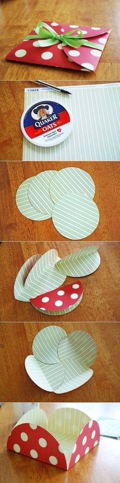Credit SourceHello I am back with another post on Pack-It Thurday! Today post is on how you can use up your pattern paper to create gift cards by using just 4 circles die cut. You can either use a…