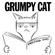 Descendents - Everything Sucks with Grumpy Cat Band Logos, Grumpy Cat, Bands, Punk, Art, Art Background, Kunst, Band, Band Memes