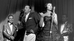 Louis Prima and Keely Smith. In their heyday they were the King & Queen of Las Vegas playing sold out shows at the Sahara.  Their last show usually went on at 4 am and the headliners of the strip & Hollywood would be sitting ringside.