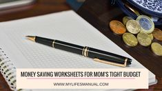 Saving money tips for moms.
