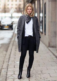 8 Looks Minimalistas para Você Usar no Inverno