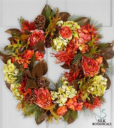 Welcome in the Season with these Beautiful Autumn Wreaths