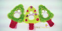 #Christmas Ornaments/Pop Tab Christmas Trees #Arbol de Navidad | ErikaCreativa