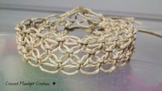 Macrame Hemp Bracelet by CrescentMoonLight on Etsy, $5.00