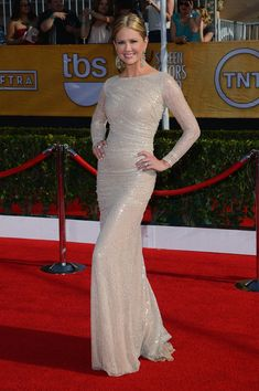SAG Awards 2014 Red Carpet Nancy O'Dell