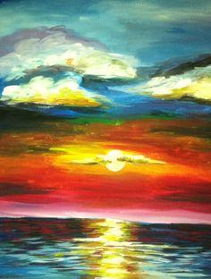 Paint Nite | Ocean Sunset