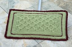 Clean Sweep Cover - Knitting Patterns and Crochet Patterns from KnitPicks.com