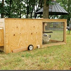 The Ultimate Backyard Chicken Tractor - Farm and Garden - GRIT Magazine