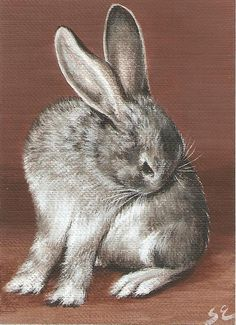 Custom Pet Portrait ACEO Painting by SandyLandStudio on Etsy, $40.00