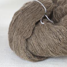Habu Textiles Handspun Tassar Silk  I have about 2000 yds. of this. Love Habu!